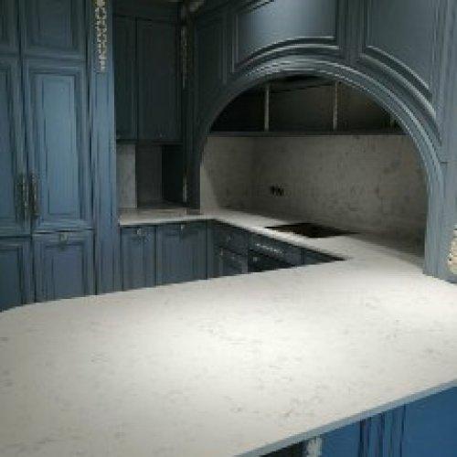 Avant quartz 9015 Франш-Конте(белый мрамор)