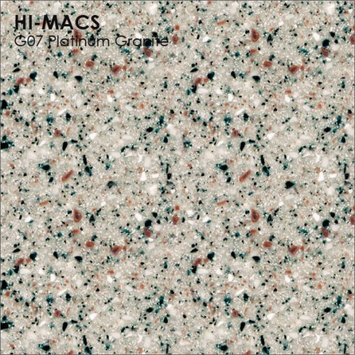 Столешница Г-образная Акрил LG HI-MACS lg-hi-macs-granite-g07-platinum-granite