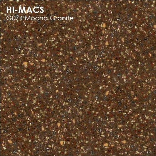 Столешница Г-образная Акрил LG HI-MACS lg-hi-macs-granite-g074-mocha-granite