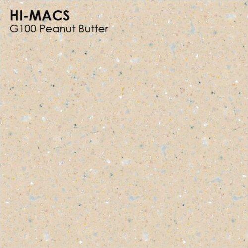 Столешница Г-образная Акрил LG HI-MACS lg-hi-macs-granite-g100-peanut-butter