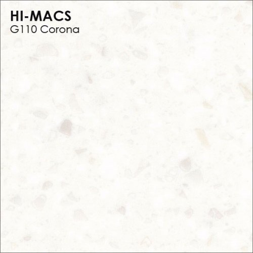 Столешница Г-образная Акрил LG HI-MACS lg-hi-macs-granite-g110-corona