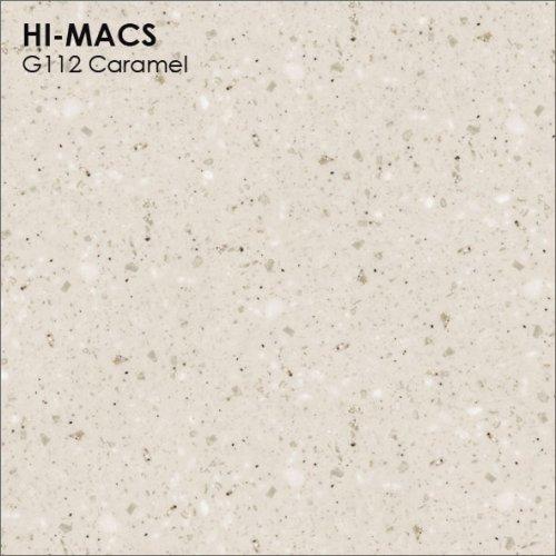 Столешница Г-образная Акрил LG HI-MACS lg-hi-macs-granite-g112-caramel