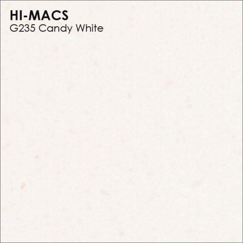 Столешница Г-образная Акрил LG HI-MACS lg-hi-macs-granite-g235-candy-white