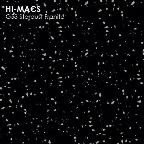 Столешница Г-образная Акрил LG HI-MACS lg-hi-macs-granite-g53-stardust-franite