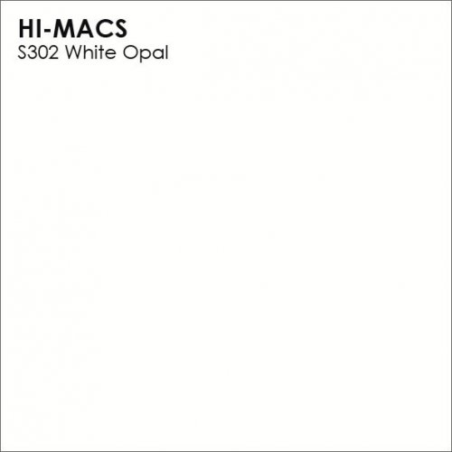 Столешница Г-образная Акрил LG HI-MACS lg-hi-macs-lucent-s302-white-opal