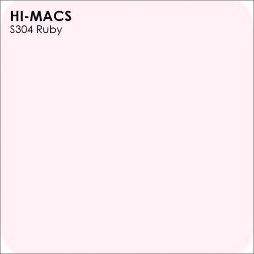 Столешница Г-образная Акрил LG HI-MACS lg-hi-macs-lucent-s304-ruby