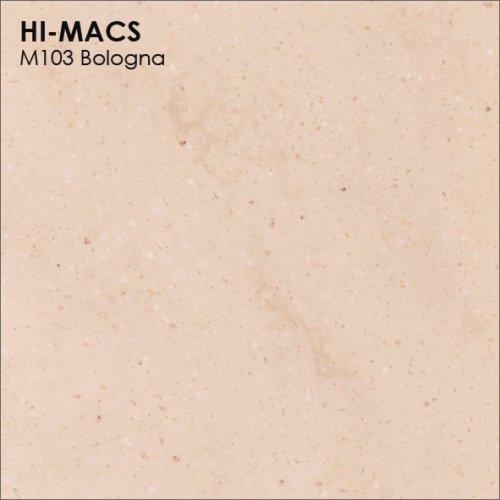 Столешница Г-образная Акрил LG HI-MACS lg-hi-macs-marmo-m103-bologna