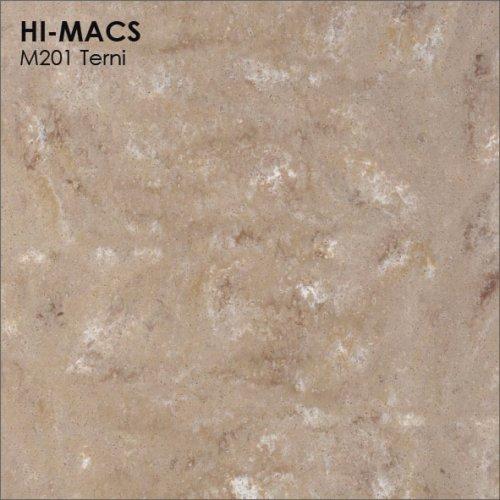 Столешница Г-образная Акрил LG HI-MACS lg-hi-macs-marmo-m201-terni