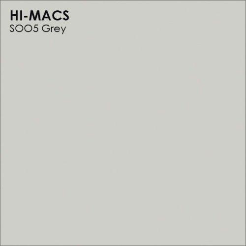 Столешница Г-образная Акрил LG HI-MACS lg-hi-macs-new-s005-grey