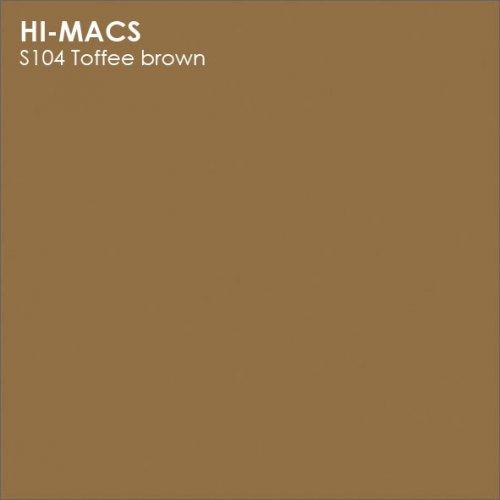 Столешница Г-образная Акрил LG HI-MACS lg-hi-macs-new-s104-toffee-brown