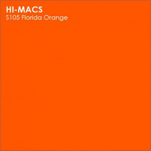 Столешница Г-образная Акрил LG HI-MACS lg-hi-macs-new-s105-florida-orange