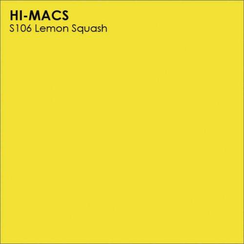 Столешница Г-образная Акрил LG HI-MACS lg-hi-macs-new-s106-lemon-squash
