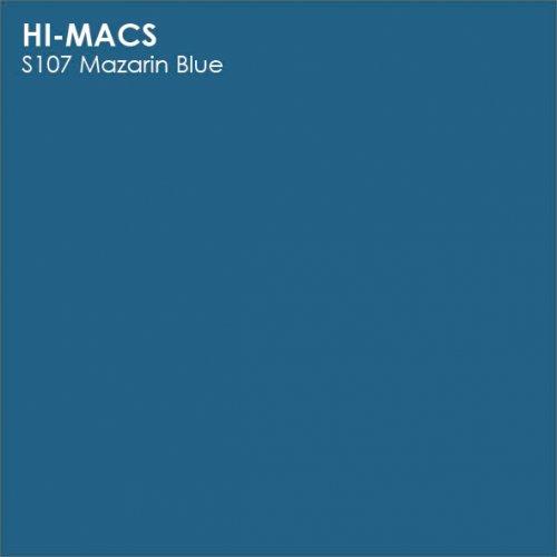 Столешница Г-образная Акрил LG HI-MACS lg-hi-macs-new-s107-mazarin-blue