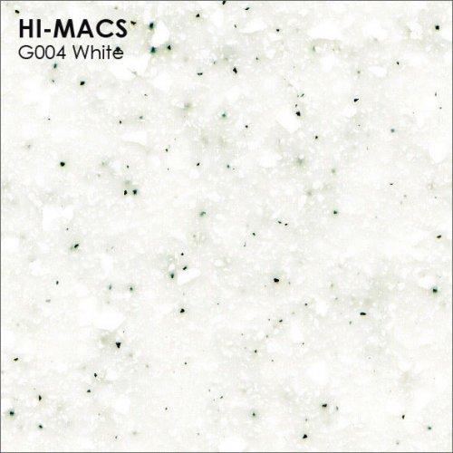 Столешница Г-образная Акрил LG HI-MACS lg-hi-macs-quartz-g004-white