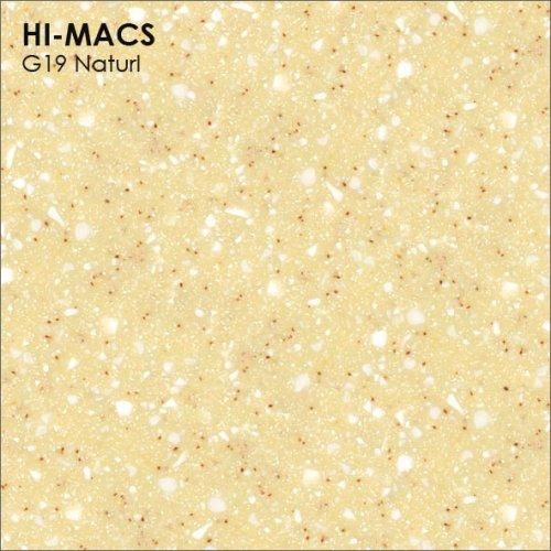 Столешница Г-образная Акрил LG HI-MACS lg-hi-macs-quartz-g019-naturl