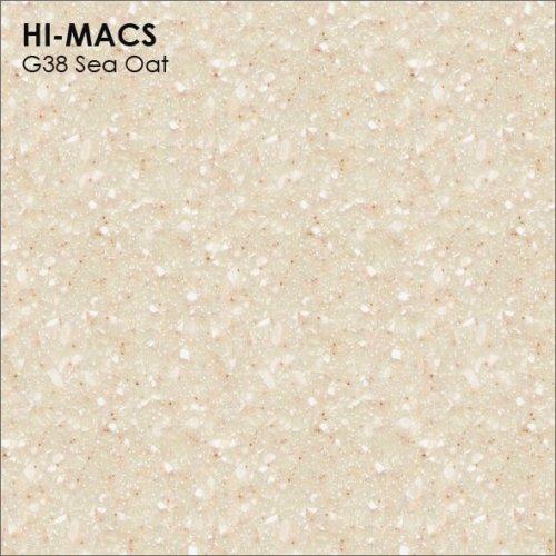 Столешница Г-образная Акрил LG HI-MACS lg-hi-macs-quartz-g038-sea-oat