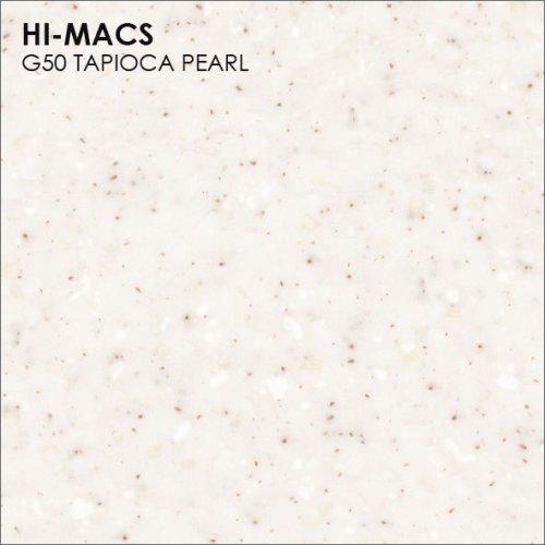 Столешница Г-образная Акрил LG HI-MACS lg-hi-macs-sand-g050-tapioca-pearl