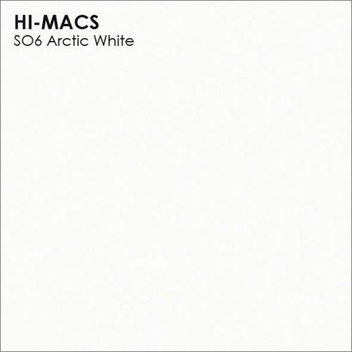 Столешница Г-образная Акрил LG HI-MACS lg-hi-macs-solid-s006-arctic-white