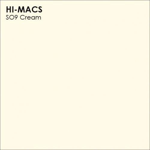 Столешница Г-образная Акрил LG HI-MACS lg-hi-macs-solid-s009-cream