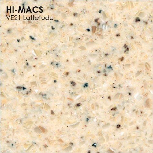 Столешница Г-образная Акрил LG HI-MACS lg-hi-macs-volcanics-ve21-lattetude