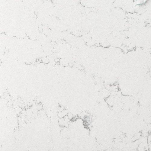 Столешница г-образная кварц Belenco Faury white