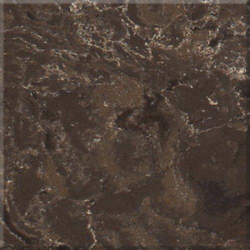 Столешница г-образная кварц AVANT 9009 Прованс (коричневый мрамор)