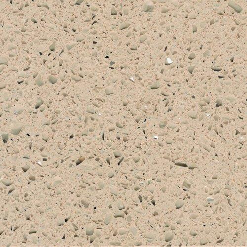 Столешница г-образная кварц Tichnistone Starlight Sand